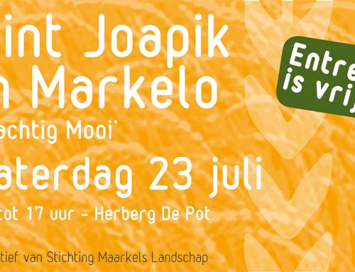 Aanstaande zaterdag 23 juli Sint Joapik bij Herberg de Pot Markelo