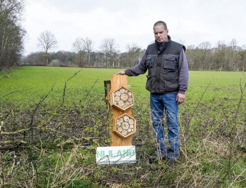 Bentelose ondernemer steunt Hofvogels bij haar biodiversiteitsplannen
